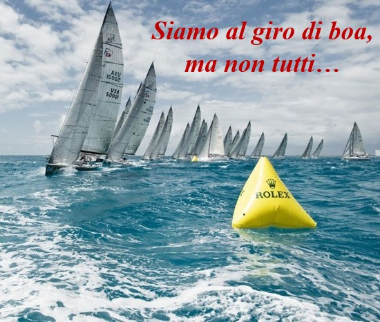 SIAMO AL GIRO DI BOA, MA NON TUTTI….